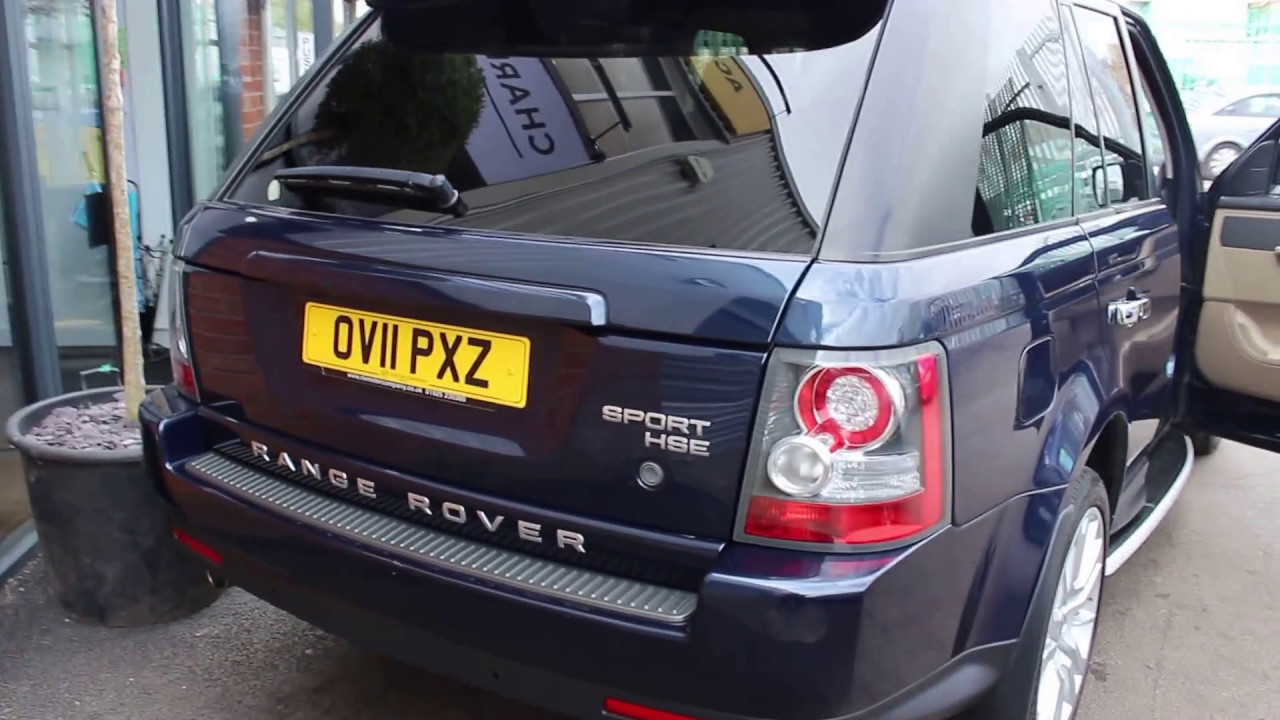 Range rover sport tdv6 hse finished in baltic blue at rix motor company