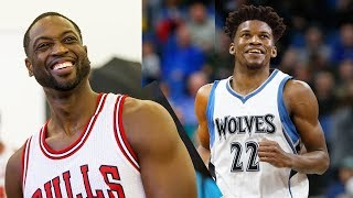 Dwyane Wade CLOWNS Jimmy Butler After Getting Traded to the Timberwolves