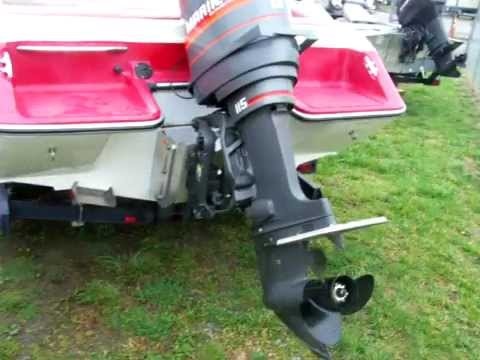 Sunbird Inboard Boat Converted To An Outboard Youtube