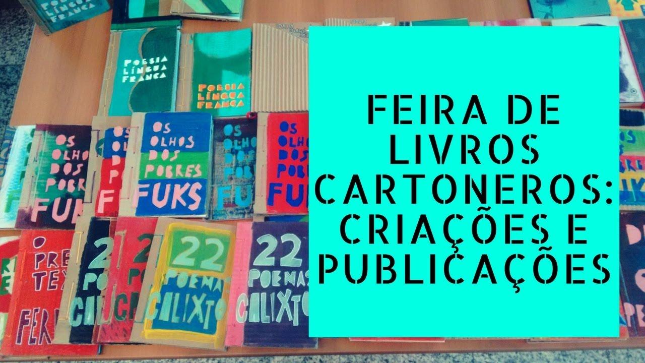 Feira de Livros Cartoneros: Criações e Publicações - SESC Santo Amaro | Malha Fina Cartonera