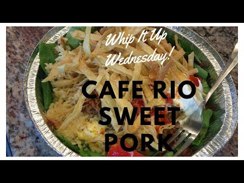 Whip It Up Wednesday | Cafe Rio Sweet Pork | Slow Cooker Collab