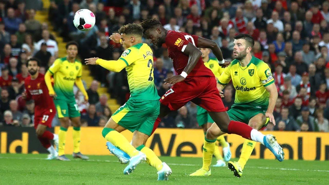 Liverpool vs Norwich | Alexander-Arnold sets up Origi for a brilliant  fourth goal