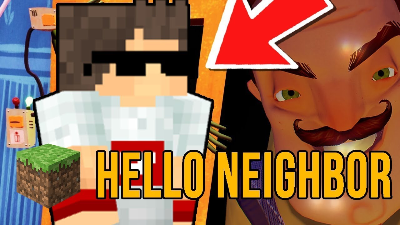 Minecraft: საიდუმლო ოთახი კარის გარეშე!!! – Hello Neighbor – Custom Map