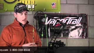 Vapor Trails Pro V Limb Driver rest & Strings