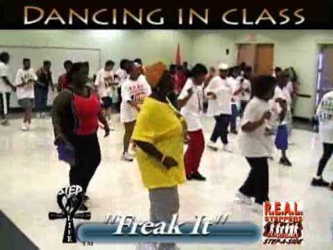 Step  Line Dance  Freak It in Class