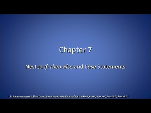 CSC 120-07. Ch 7, Nested If-Then-Else & Case Statements (2015-03-03, Tue)