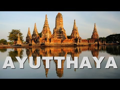 Ayutthaya, the Ancient Capital of Thailand (Siam)