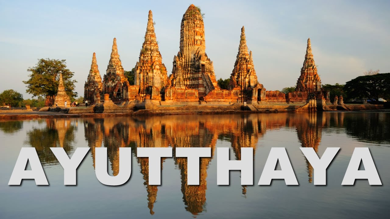 ayutthaya the ancient capital of thailand siam youtube. Black Bedroom Furniture Sets. Home Design Ideas
