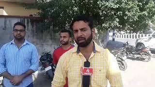 Jammu university student s about the regular accident happened in chenab valley