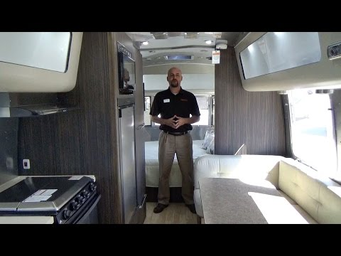 Fantastic Walk Through 2017 Airstream Tommy Bahama 27FB Travel Tr... | Doovi