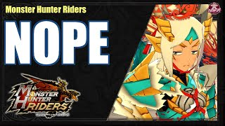 Monster Hunter Riders is Horrible