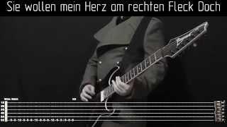 Скачать Rammstein Links 234 Instrumental Cover With Tabs Backing Track And Lyrics
