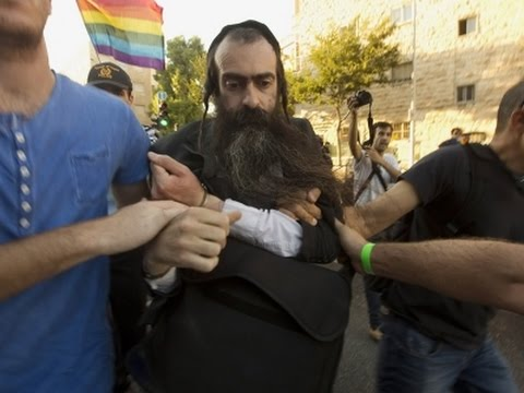 Raw: Ultra-Orthodox Jew Stabs 6 At Gay Parade