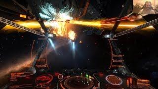 Elite: Dangerous 3.1 - Krait In High Intensity Conflict Zone (PC) 1080P60 HD