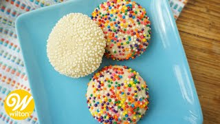 Quick and Easy Sugar Cookies Recipe for Beginners | Wilton