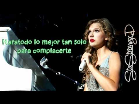 Taylor Swift - Bette Davis Eyes (Traducida al español) Speak Now World Tour Album