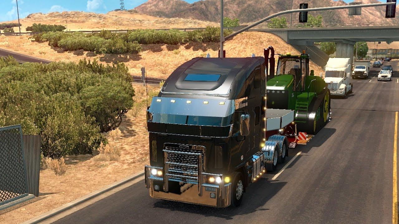 Freightliner Las Vegas >> American Truck Simulator Mods Freightliner Argosy Las Vegas To Kingman
