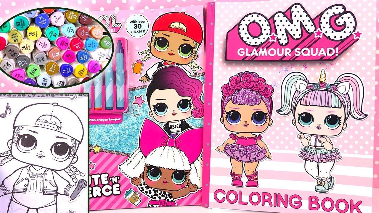 Poupees Lol Surprise Coloring Book Coloriage Loisirs Creatifs Youtube