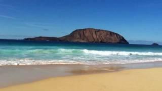 Playa Las Conchas La Graciosa (Islas Canarias) Paradisiaca
