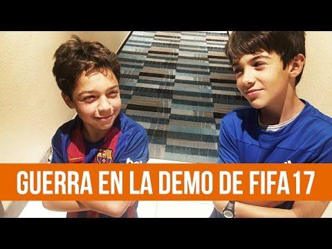HUGO MARKER VS PATRICK FLASH   DEMO FIFA 17   REAL MADRID VS BAYERN MUNICH   CITY VS UNITED