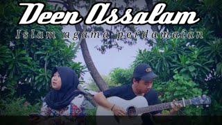 DEEN ASSALAM - Nissa Sabyan  Acoustic Cover