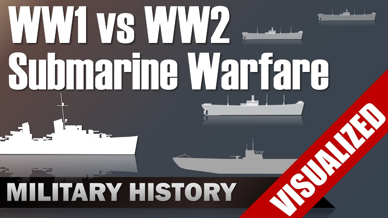 compare and contrast ww1 and ww2 weapons