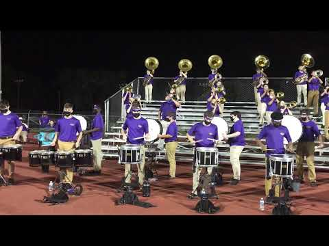 Hahnville High School Band 10-7-2020 - Turn The Beat Up