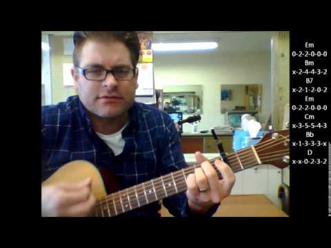 "How to play ""Volare"" by Dean Martin on acoustic guitar"