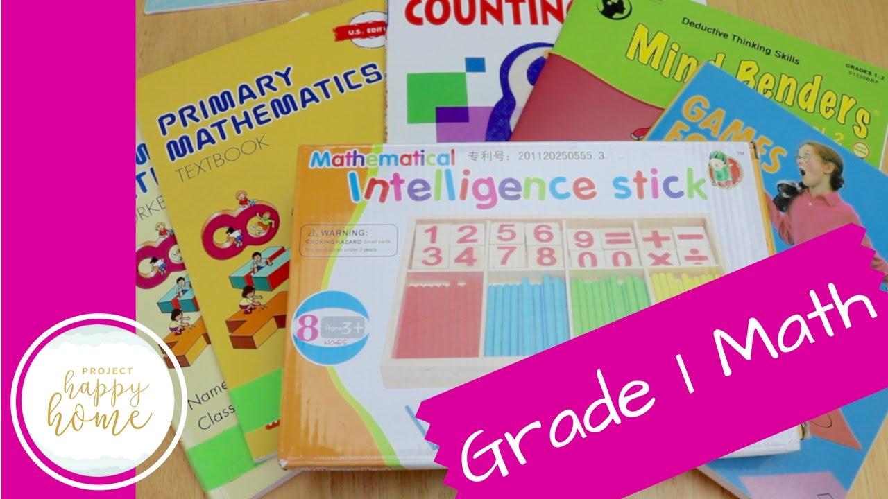 First Grade Homeschool Math Curriculum || Singapore Math, Kumon ...