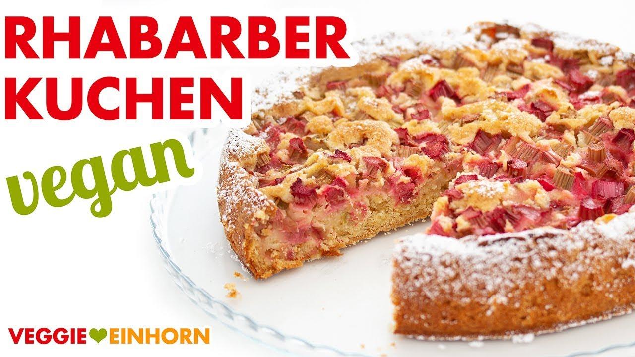 Kuchen rabarba German Rhubarb