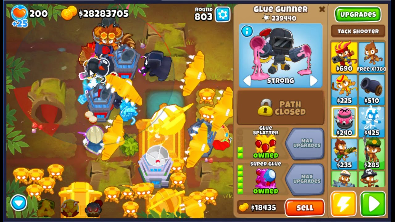 How to Survive Round 800+ Late Game BTD6! - hmong video