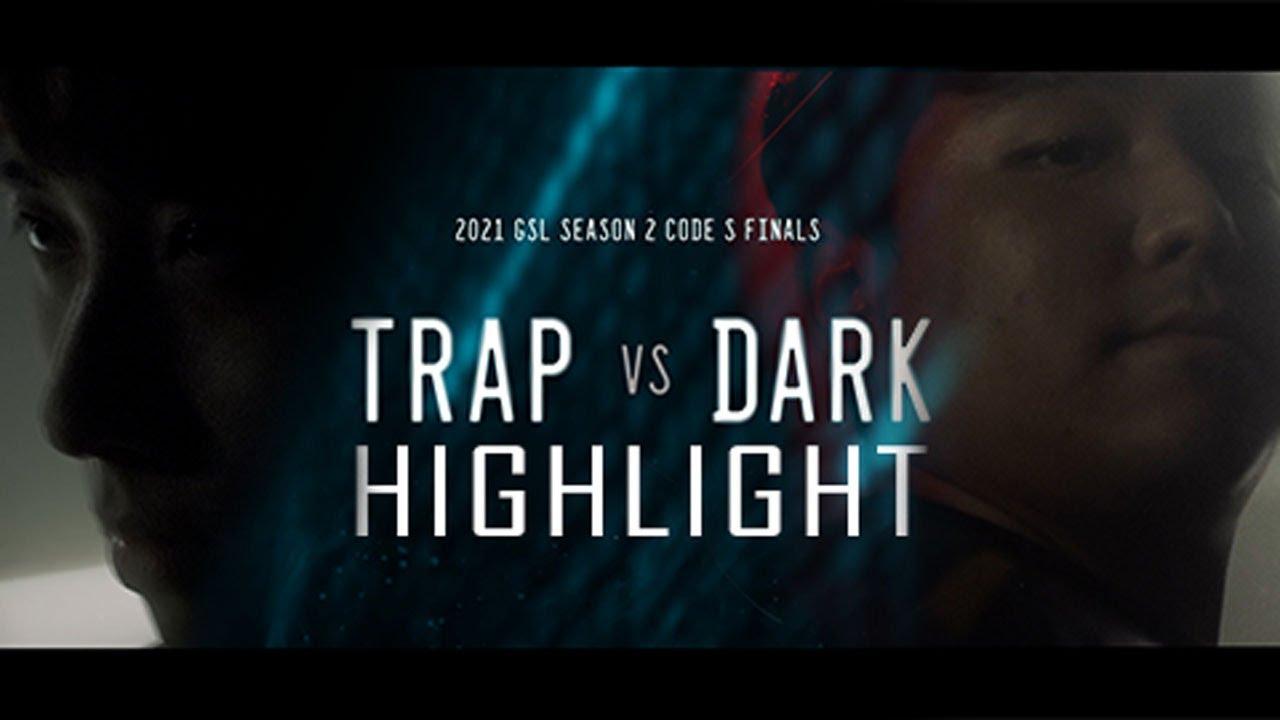 잡을 것인가 잡아먹을 것인가.   2021 GSL 시즌2 코드S   조성호(Trap), 박령우(Dark)