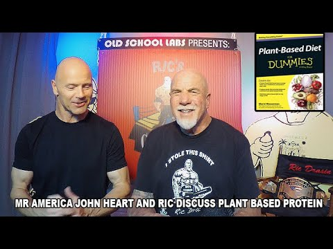 MR AMERICA JOHN HEART DISCUSSES PLANT BASED DIET thumbnail