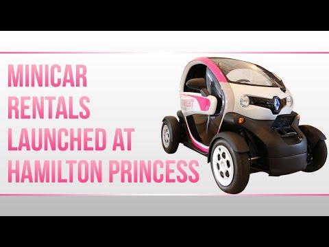 Launch Of Rental Minicars At Hamilton Princess, May 2 2017
