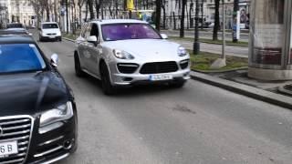 Porsche Cayenne GTS 2013 - brutal Sound!!