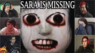 Gamers Reactions to Red Room Video | Sara is Missing