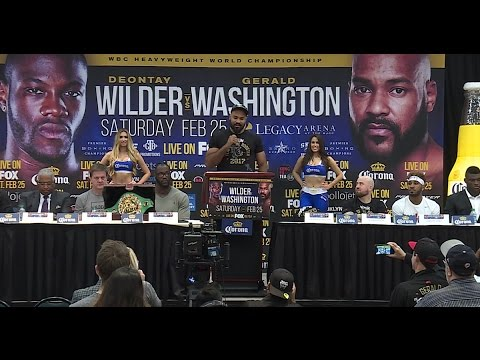 Gerald Washington 'blessed' for WBC title shot vs Deontay Wilder