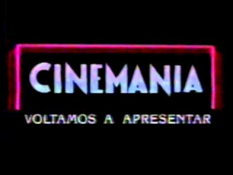 Vinheta de Intervalo - Cinemania - TV Manchete (Ano 1989)