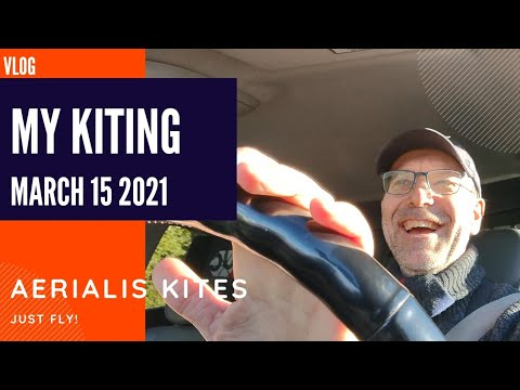 My Kiting - March 15th 2021