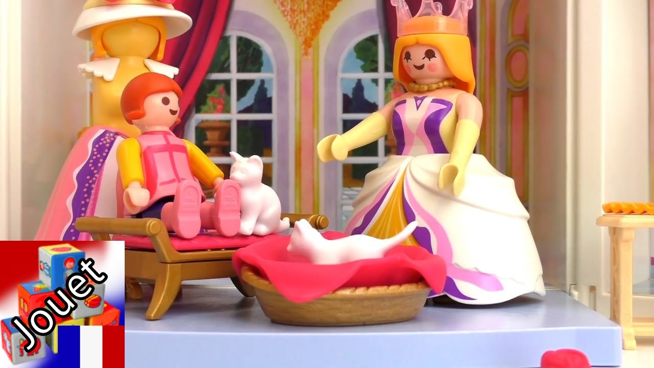 playmobil princesse film en francais histoire de la princesse du livre de contes youtube