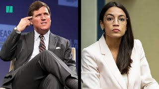 Tucker's Guest Smears AOC's District