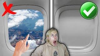 10 saker du ALDRIG ska göra på ett flygplan