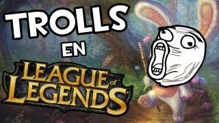 Trolls en League of Legends | OLAF KE ASHE?