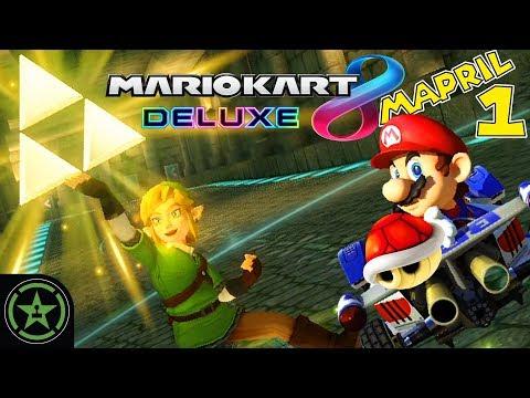 Let's Play - Mario Kart 8 Deluxe: Mario Kart Mapril (#1)