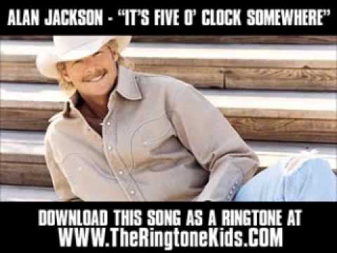 Alan Jackson   It's Five O'Clock Somewhere  New Video + Lyrics + Download    YouTube