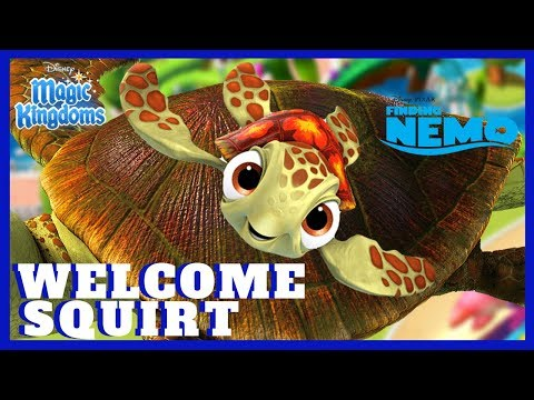WELCOME SQUIRT! Limited Time Event Finding Nemo Disney Mom's Magic Kingdoms Gameplay