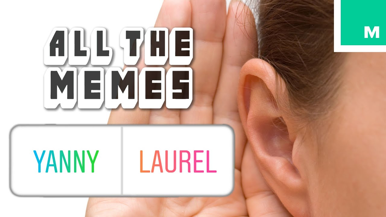 I can only hear Yanny, not Laurel  Is there something wrong