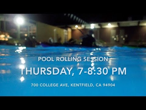 Rolling session at College of Marin Kentfield Pool