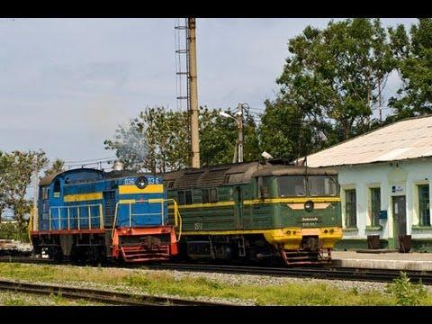 Сахалин 2009 / Sakhalin 2009. Railway Travel (RZD, Vzmorie, Tomari)