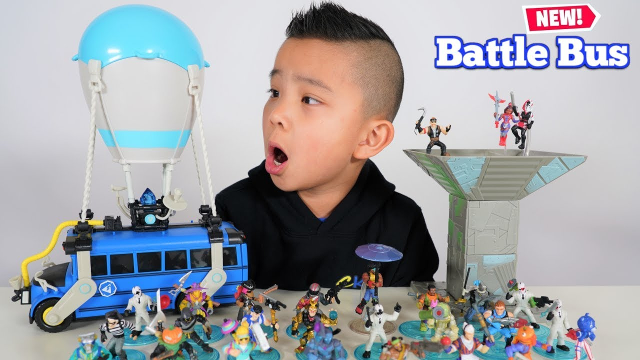 Download New FORTNITE Battle Bus and Ultra Rares Figurines Ckn Toys